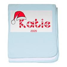 Katie - Santa Hat baby blanket