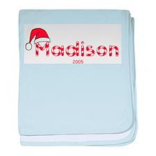 Madison - Santa Hat baby blanket