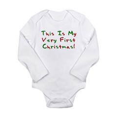 This Is My Very First Christm Long Sleeve Infant B