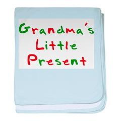 Grandma's Little Present baby blanket