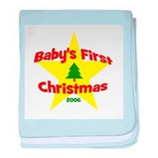 Baby's First Christmas 2006 s baby blanket