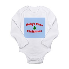 Baby's First Christmas Orname Long Sleeve Infant B