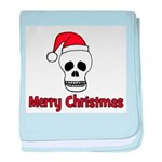 Merry Christmas - Pirate Sant baby blanket