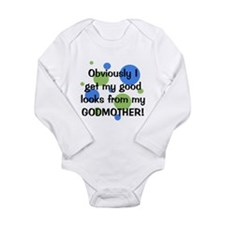 Good Looks from Godmother Long Sleeve Infant Bodys