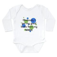 Good Looks From Nana Long Sleeve Infant Bodysuit