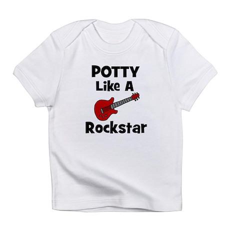 Potty Like A Rockstar with Gu Infant T-Shirt