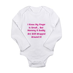 Mommy & Daddy Wrapped Around Long Sleeve Infan