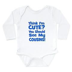 Think I'm Cute? CousinS {Plur Long Sleeve Infant B