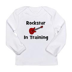 Rockstar In Training Long Sleeve Infant T-Shirt