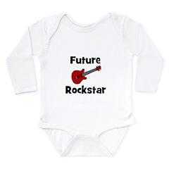 Future Rockstar Long Sleeve Infant Bodysuit
