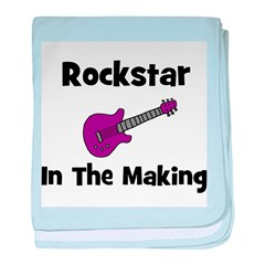 Rockstar In The Making baby blanket
