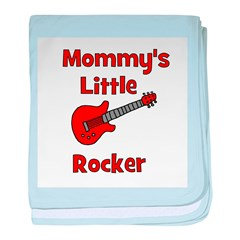 Mommy's Little Rocker baby blanket