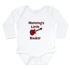 Mommy's Little Rocker Long Sleeve Infant Bodysuit