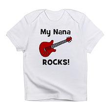 My Nana Rocks! (guitar) Infant T-Shirt
