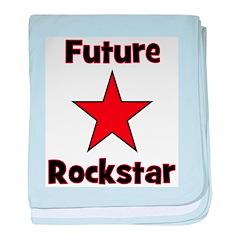 Future Rockstar baby blanket
