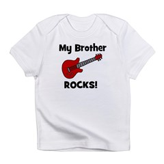 My Brother Rocks! (guitar) Infant T-Shirt