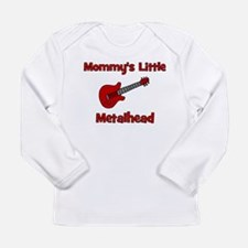 Mommy's Little Metalhead. Long Sleeve Infant T-Shi