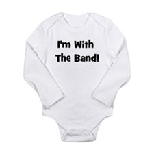 I'm With The Band. Onesie Romper Suit