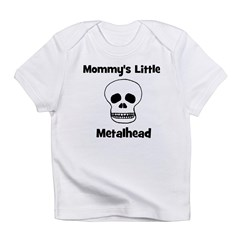 Mommy's Little Metalhead. Infant T-Shirt