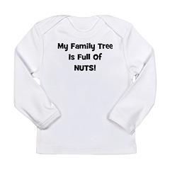 Family Tree black Long Sleeve Infant T-Shirt