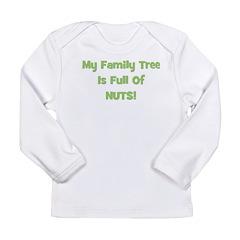 Family Tree green Long Sleeve Infant T-Shirt