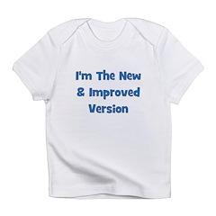 New & Improved - Blue Infant T-Shirt
