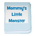 Mommy's Little Monster baby blanket