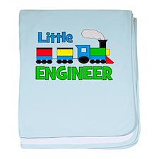 Little Engineer Trains! baby blanket