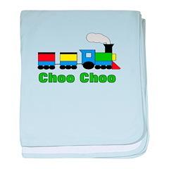 Choo Choo Trains! baby blanket