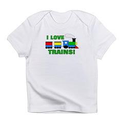 I Love Trains! Infant T-Shirt
