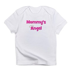 Mommy's Angel - Pink Infant T-Shirt