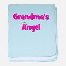 Grandma's Angel - Pink baby blanket