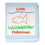 Little Fisherman baby blanket