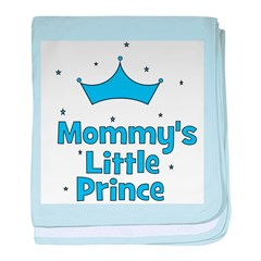 Mommy's Little Prince w/ Crow baby blanket