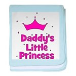 Daddy's Little Princess with baby blanket