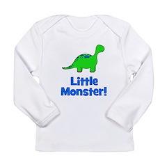 Little Monster - Dinosaur Long Sleeve Infant T-Shi
