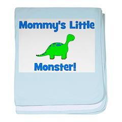 Mommy's Little Monster - Dino baby blanket