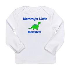 Mommy's Little Monster - Dino Long Sleeve Infant T