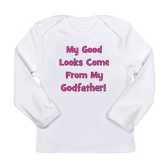 Good Looks from Godfather - P Long Sleeve Infant T