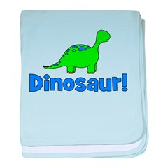 Dinosaur! baby blanket