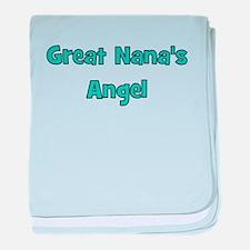 Great Nana's Angel. baby blanket