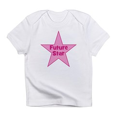 Future Star - Pink Infant T-Shirt