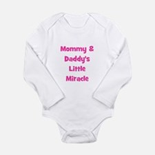 Mommy & Daddy's Little Miracl Onesie Romper Suit