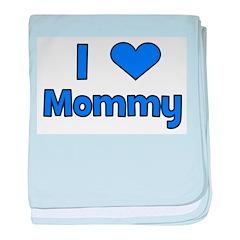 I Love Mommy baby blanket