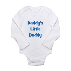 Daddy's Little Buddy Long Sleeve Infant Bodysuit