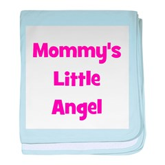 Mommy's Little Angel baby blanket