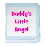 Daddy's Little Angel baby blanket