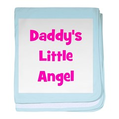 Daddy's Little Angel baby blanket