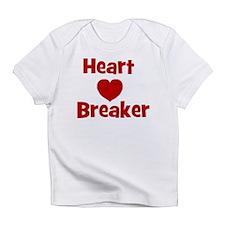 Heart Breaker with heart Infant T-Shirt