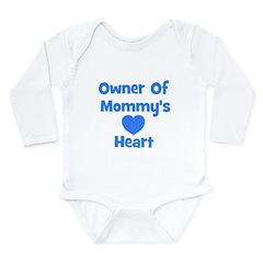Ownder of Mommy's Heart Long Sleeve Infant Bodysui